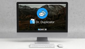 detect email duplicates on mac