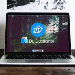 delete DropBox Duplicates